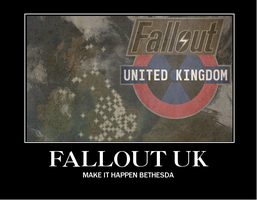 Fallout UK Demotivater by anycent