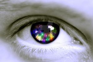 Colored Eye by Missionpb