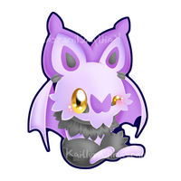 Noibat by Clinkorz
