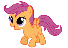 Scootaloo by Tardifice