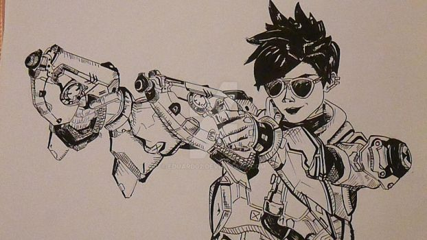 Tracer - Overwatch by eduard02