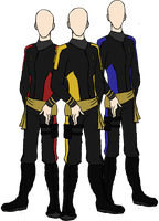 Star Trek: Male Mirror Uniforms by LLAP