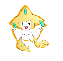 Jirachi by Toxiee
