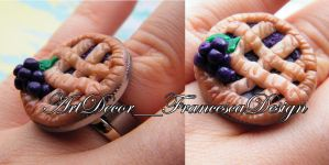 Crostata anello / tart ring by Fraartdesign