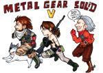 MGSV comic runners (color) by BarsOrigami