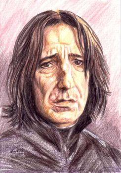 Snape Sketch Series Number 3 by Facenna