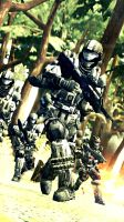 ODST on Earth by LordHayabusa357