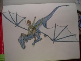 Khold as dragon and Skevv by DarthJader11