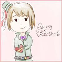 Be my Valentine? *APH-Romania* by MischievousRibbon