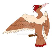 Fearow  by Bwabbit