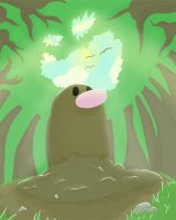 Diglet in the forest by May-Lene