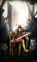 The Fallen Emperor by meiji1990