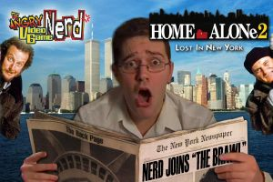 AVGN Home Alone 2 Title Card by x-Destinys-Force-x