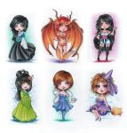 Chibis For Raisloversakura by Ritusss