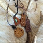 Leather pendants by nondecaf