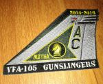 VFA-105 Gunslingers tail patch by Ralph1989