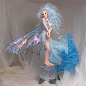 Sky Blue Faerie by wingdthing