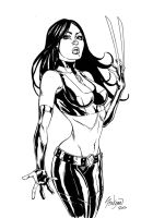 X-23 Commission Sketch by John-Stinsman