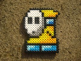 Perler: Shy Guy by PhishRitzy