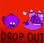 DROP OUT Kirby and Magolor by KirbyRainboom