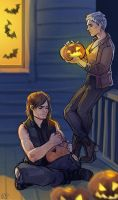 The Walking Dead - Halloween by maXKennedy