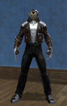 Wolverine (DC Universe Online) Updated by Macgyver75
