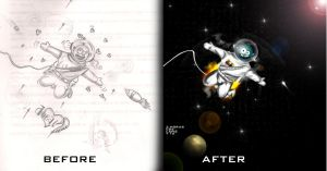 bafore-after by KMPO-ANIBAL-olARTE