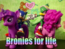 BRONIES FOR LIFE by sendoki