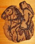 Nazgul on horse - Xmas cookie by noleme