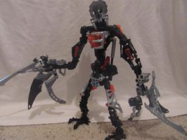 Bionicle Revamp: Chirox by HungryGuineapig