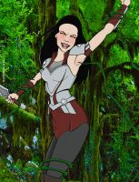 Lady Sif in trouble by sandrock74