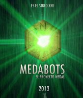 Medabots Movie Poster by pablolanztl