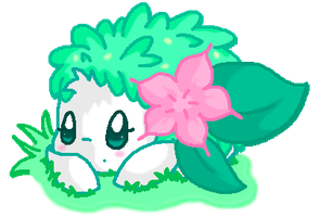 Chibi Shaymin by Angel-Espy