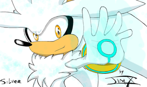 Silver the hedgehog by drakughost