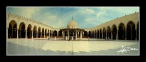 Amr Ebn Al 'As Mosque by Yahyamd