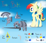 :COM: Ivory Bolt Reference Sheet by spottie-dots