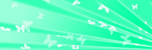 Butterfly Banner by mahalis
