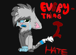 Everything I hate. by ILavi