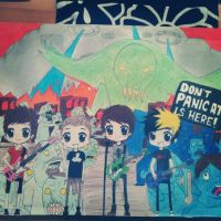 Don't Panic All Time Low is here! by cascadeofstars