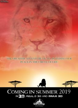 The Lion King Live Action Teaser Poster by RDJ1995