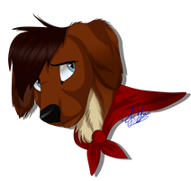 Alex .:Headshot:. by ScottishRedWolf