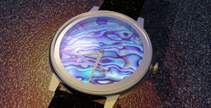 Fossil Watch Abalone by Cunning69Linguist