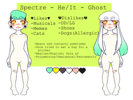 Spectre Ref [OUTDATED] by princely-spectre