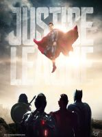 Justice League Poster V2 by Bryanzap