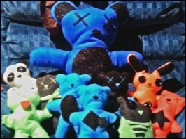 Plushies I Made by Lovely-LaceyAnn-Art
