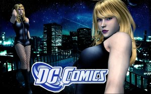 XPS - DC Comics - Black Canary Download by SovietMentality