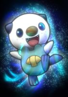 digital : pokemon Oshawott 02 2014 by darshan2good