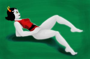 Kanaya's Swimsuit by mokia-sinhall