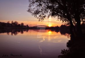 sunset in Cracow no.3 by lidia-art