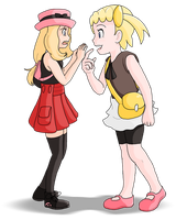 [Pokemon X and Y] Same Height by Display-This-Anyway